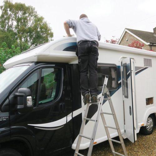 Motorhome habitation service