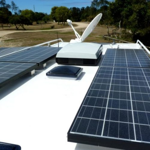 solar panels from Complete Caravan services
