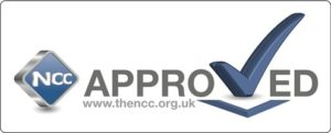 NCC approved logo
