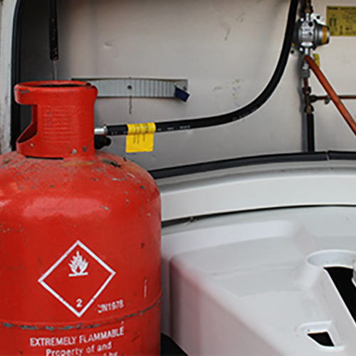 Gas maintenance and servicing for caravans